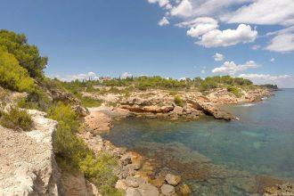 Cala Cementeri - Ruta calas Ametlla de Mar